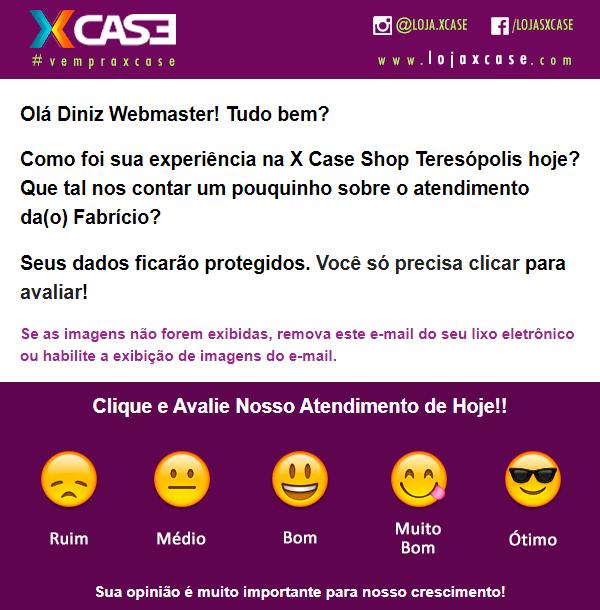 E-mail Personalizado de Compra e Pesquisa de Satisfação GesCli